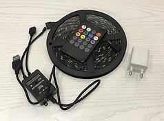 Музыкальная светодиодная RGB лента LED 5V 5050 + микрофон HLV 7373 5 м