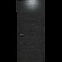 Двери межкомнатные шпонированные Status U-011\Иена цвет венге