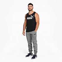 Спортивні штани Puma утеплені Essentials Logo Quadrato Black (586275_01-S), фото 3