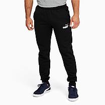 Спортивні штани Puma утеплені Essentials Logo Quadrato Black (586275_01-S), фото 2