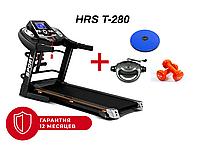 Беговая дорожка электрическая складная HRS T-280 Домашняя спортивная для бега Новая С углом наклона