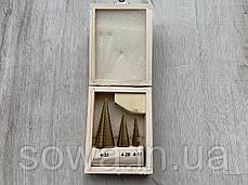 Набор сверл ступенчастих MAR-POL ( 4 - 32 мм ), фото 2