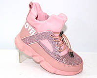 Стильные ботинки для девочки, фото 1