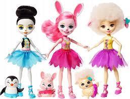 Игровой набор Enchantimals Подружки-балерины Mattel FRH55