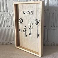 """Настінна вішалка для ключів """"Ключі"""" (30*20*3 див.)"""