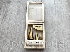 Набор сверл ступенчастих Euro Craft ( 4 - 32 мм ), фото 2