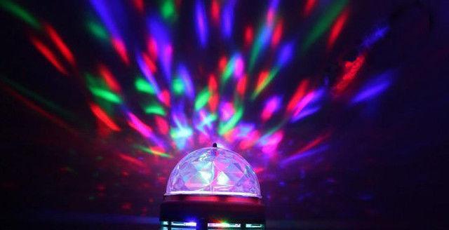 Диско обертається лампа LED lamp для вечірок LY-399