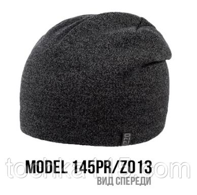Шапка Ozzi buttons|buckles|tucks №145RP, шапка с застежкой сзади