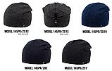 Шапка Ozzi buttons|buckles|tucks №145RP, шапка с застежкой сзади, фото 4