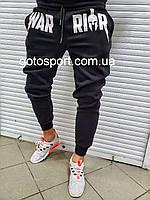 Теплі чоловічі спортивні штани Warior, фото 1