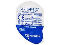 Контактные линзы Air Optix plus HydraGlyde (Alcon) 1 шт