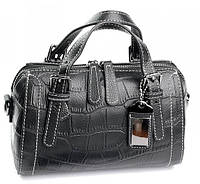 Женская кожаная сумка  10043-1 Black.Купить сумки оптом и в розницу по выгодной цене в Украине., фото 1