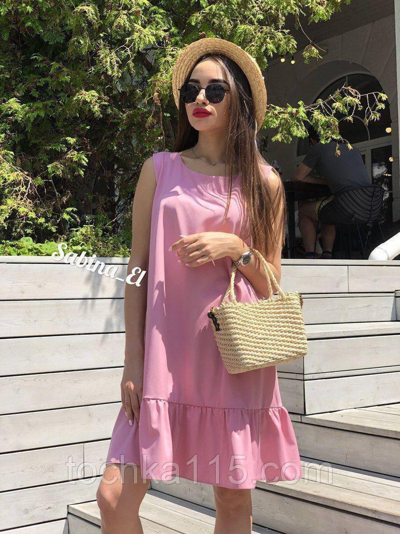 Универсальная и всеми любимая модель платья, легкое и нежное 42-44, 46-48 рр