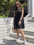 Универсальная и всеми любимая модель платья, легкое и нежное 42-44, 46-48 рр, фото 2