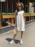 Универсальная и всеми любимая модель платья, легкое и нежное 42-44, 46-48 рр, фото 3