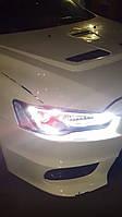 Передние фары LED Mitsubishi Lancer X (2007...)