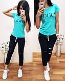 Легкая удобная женская футболка Vogue S/M/L/XL, фото 5
