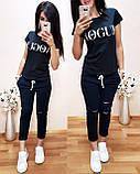 Легкая удобная женская футболка Vogue S/M/L/XL, фото 8