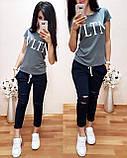 Практичная стильная футболка Valentino S/M/L/XL, фото 6