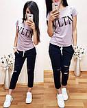 Практичная стильная футболка Valentino S/M/L/XL, фото 7