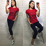 Стильная удобная футболка S/M/L/XL, фото 4