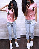 Стильная женская футболка Gucci S/M/L/XL, фото 2