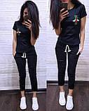 Стильная женская футболка Gucci S/M/L/XL, фото 5