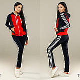 Женский спортивный костюм, костюм для прогулок S/M/L/XL/2XL, фото 2