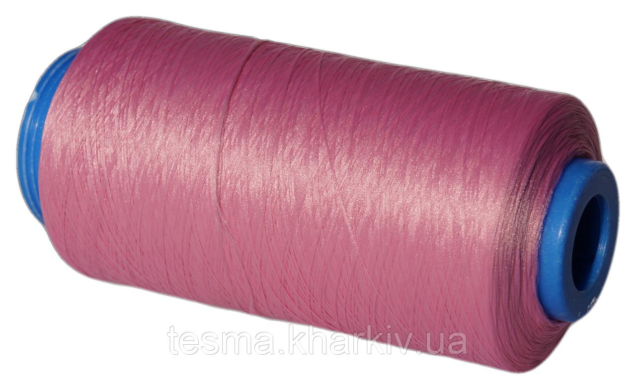 Нитки для оверлока розовый