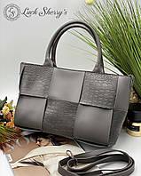 Женская сумка 096 серый купить женские сумки купить недорого Одесса 7 км, фото 1