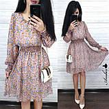 Легкое летнее платье, 42-44, 44-46 рр, черный, фото 2