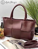 Женская сумка 096 бордовый купить женские сумки купить недорого Одесса 7 км, фото 1
