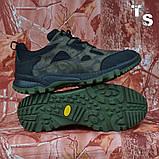 Тактичні кросівки TEXAS нубук cordura камуфляж чорні демі/зима, фото 8