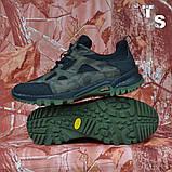 Тактичні кросівки TEXAS нубук cordura камуфляж чорні демі/зима, фото 6