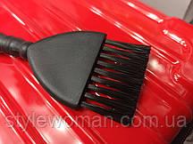 Кисть для окрашивания волос черная кисточка для краски, щетка сметка #253