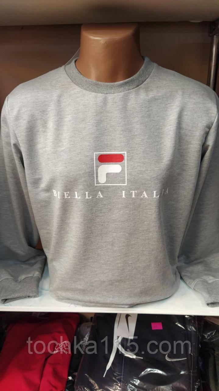 Стильный мужской свитшот, Biella Italia, 46-54