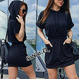 Практичное женское платье, турецкий трикотаж S\M, фото 9