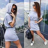 Зручне жіноче плаття, турецький трикотаж S\M, фото 3