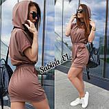 Зручне жіноче плаття, турецький трикотаж S\M, фото 8