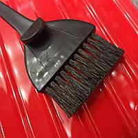 Кисть для окрашивания волос черная с крючком кисточка для краски, щетка сметка KO1376