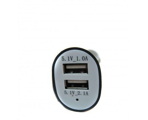 Автомобільна USB зарядка від прикурювача 12в 002