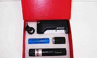 Мощная лазерная указка TYLazer 303 лазер с насадкой 500mW Зеленая лазерная указка, фото 1