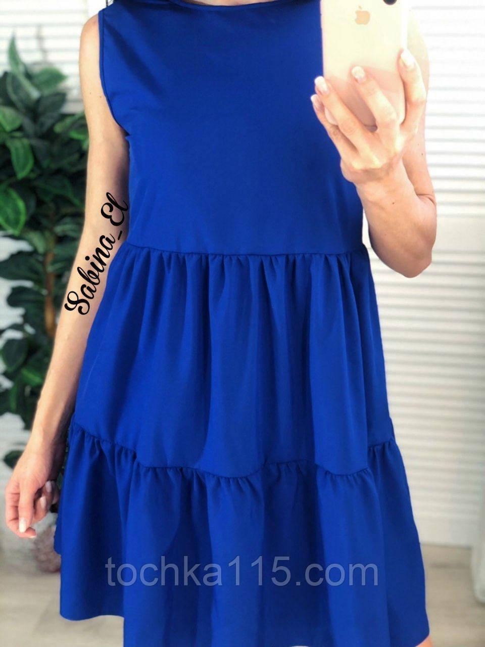 Легкое нежное платье супер софт S/L