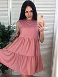 Легкое нежное платье супер софт S/L, фото 5