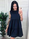 Красивое легкое платье супер софт S/L, фото 5