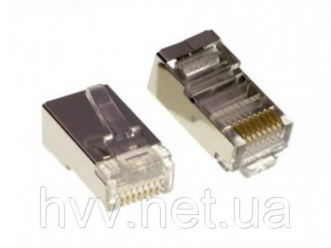 Разъем Lucktek RJ45 connector FTP 100 шт.