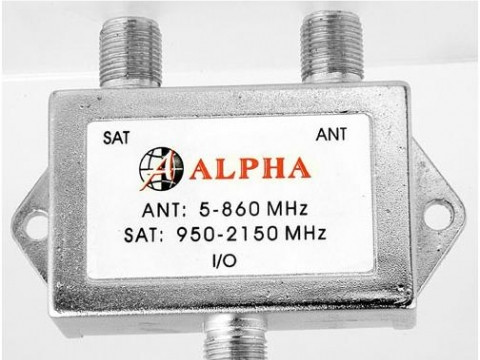 Alfa  SAT/TV  диплексер
