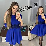 Стильне ніжне плаття крепдайвинг, S/M, фото 5
