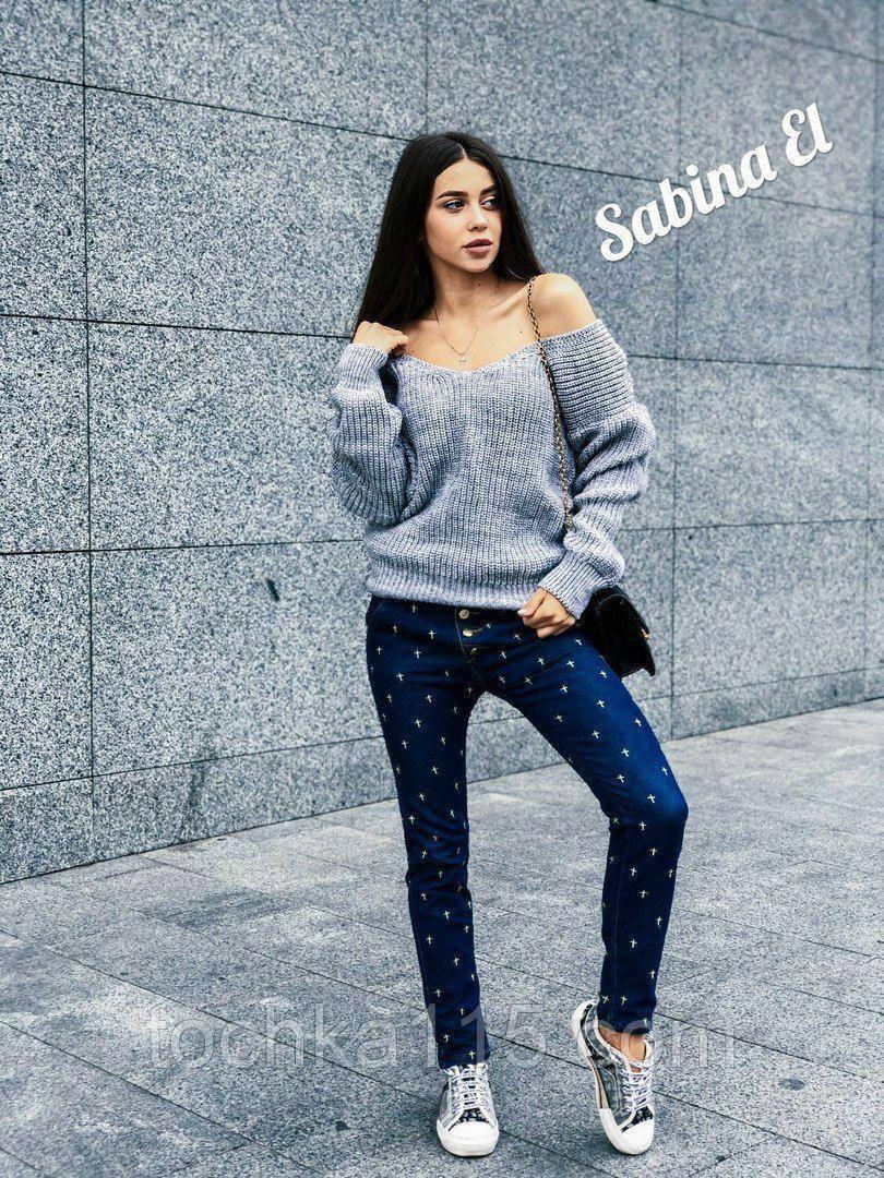 Идеальный свитер, очень теплый, 42-48 р, серый