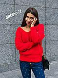 Идеальный свитер, очень теплый, 42-48 р, серый, фото 2
